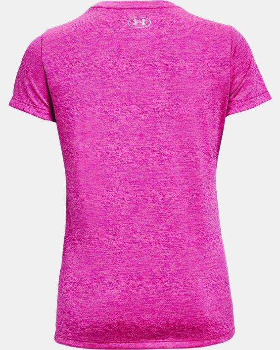 Women's UA Tech™ Twist T-Shirt, Pink, pdpMainDesktop image number 4