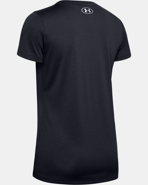 Women's UA Tech™ T-Shirt, Black, pdpMainDesktop image number 5