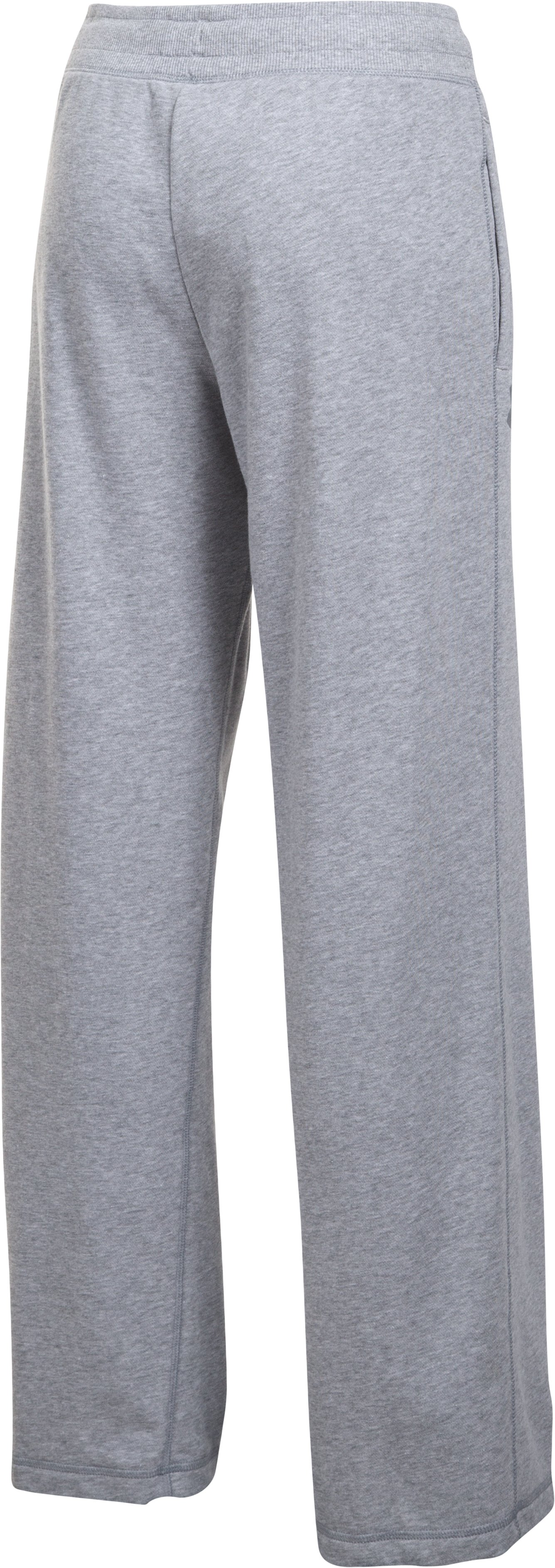 Women's UA Favorite French Terry Slouchy Pant, True Gray Heather, undefined