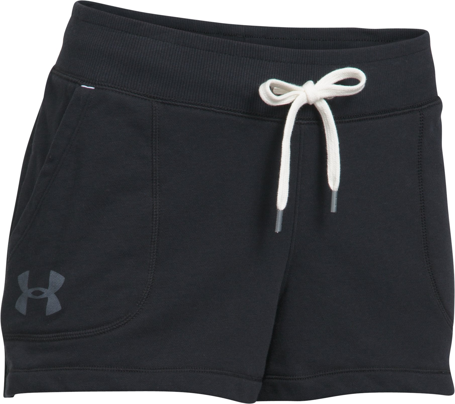 Women's UA Favorite French Terry Shorty, Black