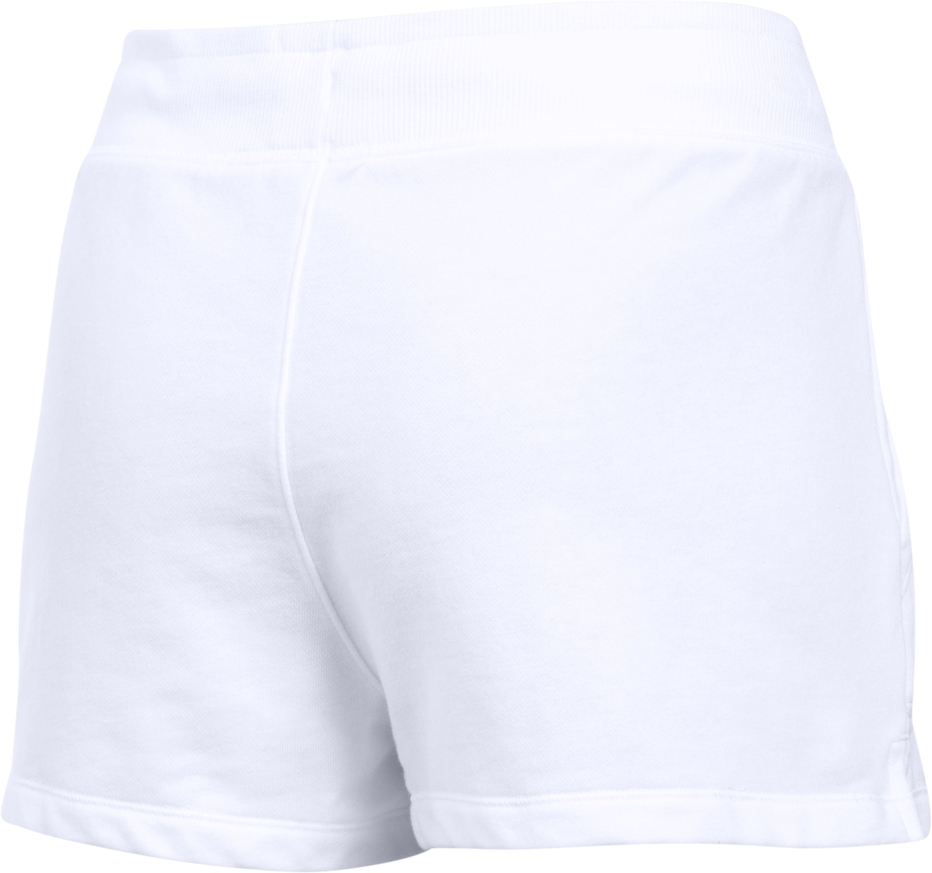 Women's UA Favorite French Terry Shorty, White