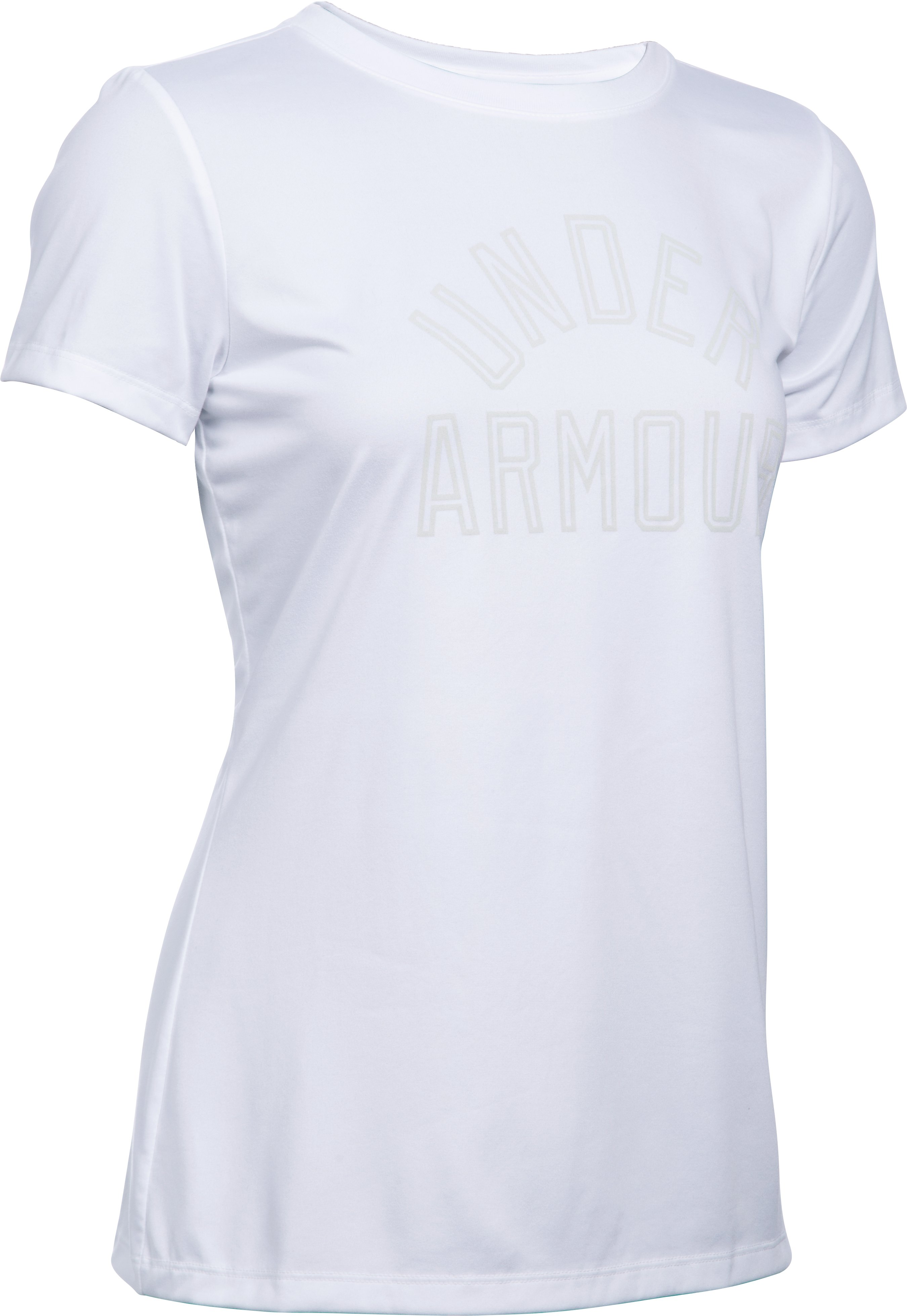 Women's UA Tech™ Word Mark T-Shirt, White,
