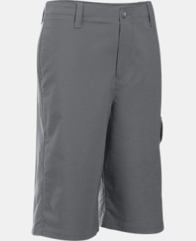 New Arrival  Boys' UA Match Play Cargo Golf Shorts  1 Color $44.99