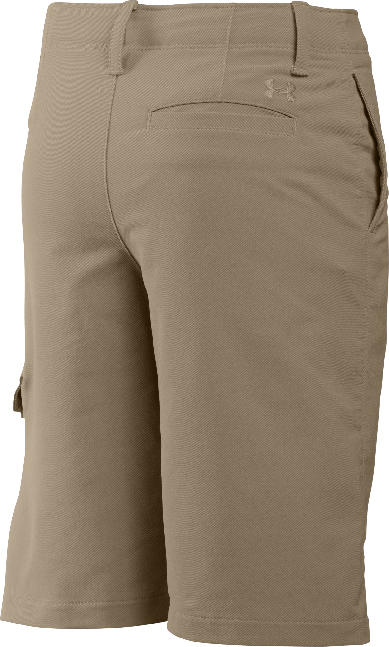 Boys' UA Match Play Cargo Golf Shorts, Canvas,