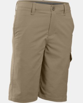 Boys' UA Match Play Cargo Golf Shorts