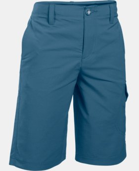 Boys' UA Match Play Cargo Golf Shorts  1 Color $44.99