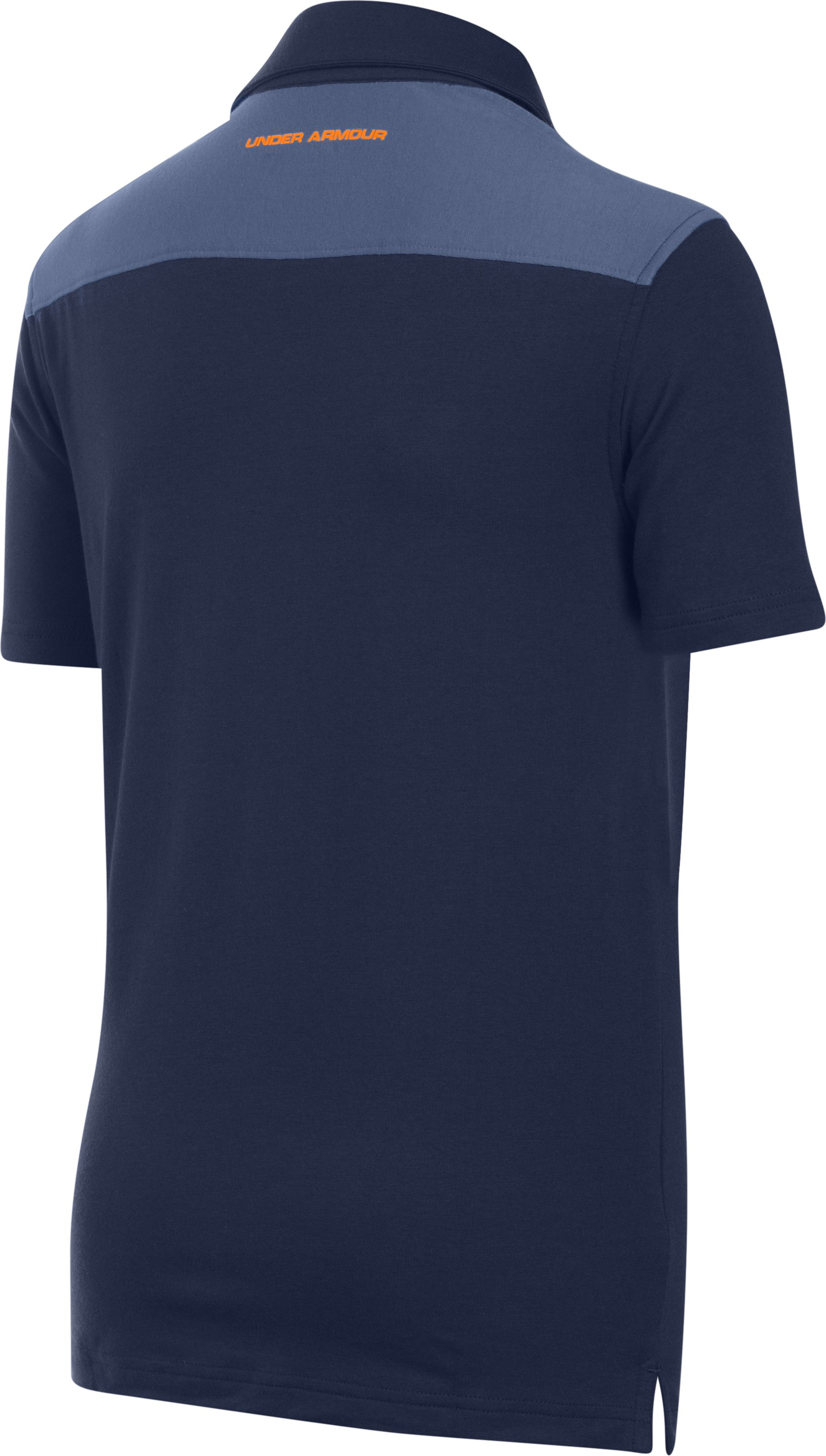 Boys' UA Soft-Pitch Polo, NAVY SEAL, undefined