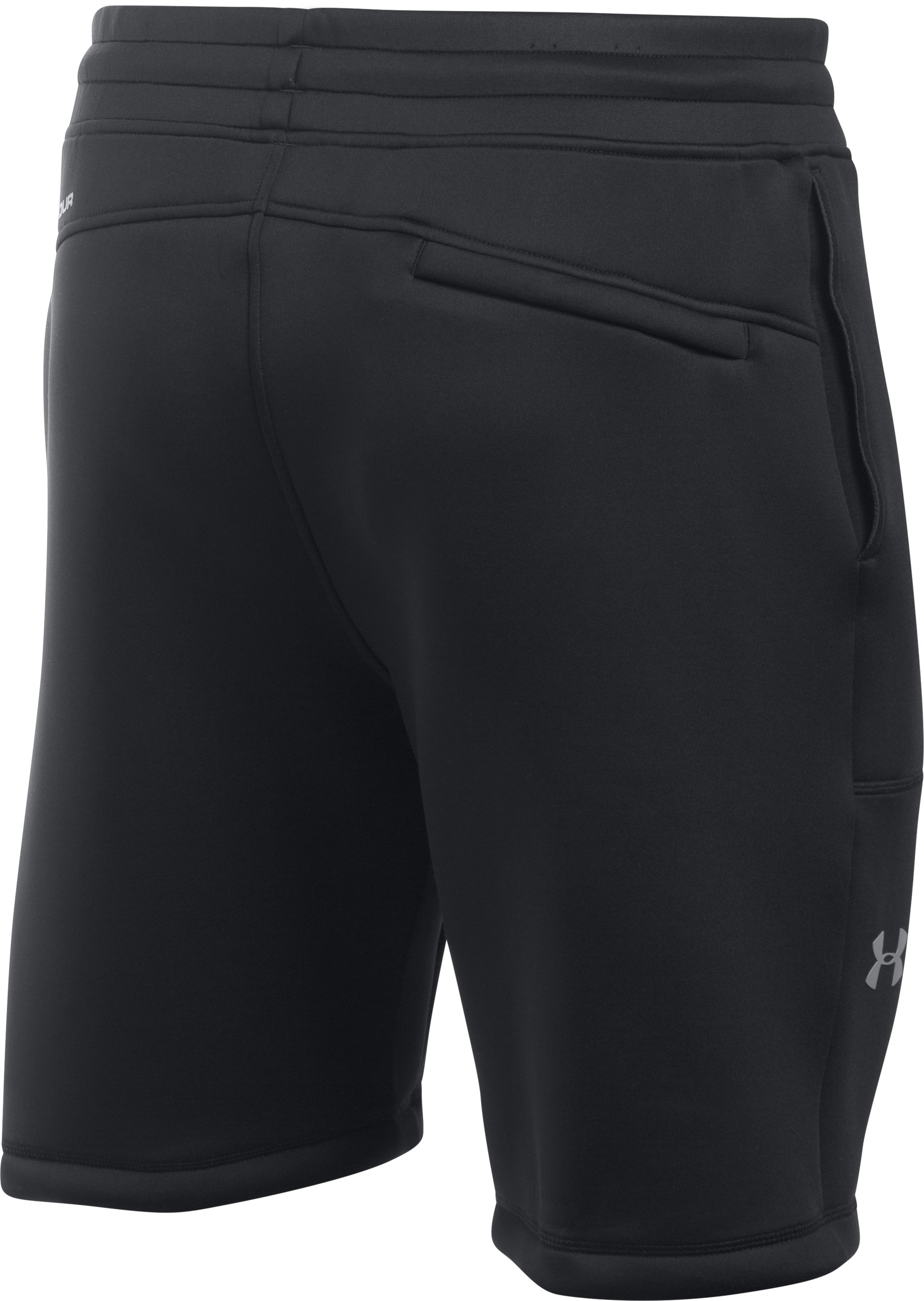Men's UA Spacer Fleece Shorts, Black