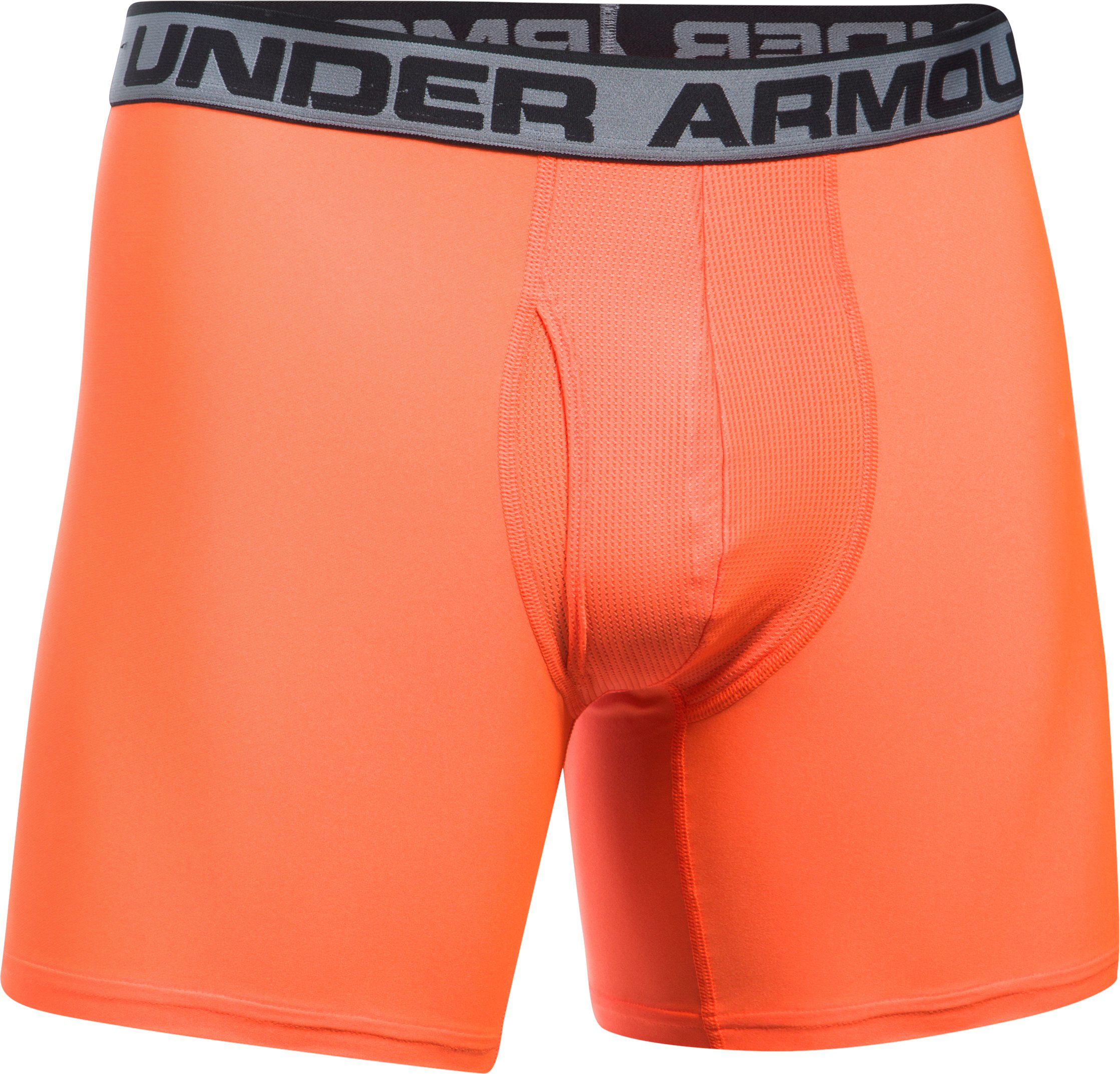 "Men's UA Original Series 6"" Boxerjock®, MAGMA ORANGE, undefined"