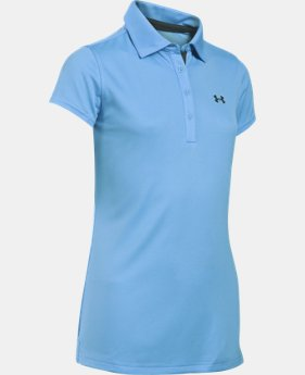 Girls' UA Play Up Polo Shirt  1 Color $26.99