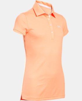 Girls' UA Play Up Polo LIMITED TIME: FREE SHIPPING 2 Colors $22.49 to $29.99
