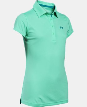 Girls' UA Play Up Polo  1 Color $22.49 to $29.99