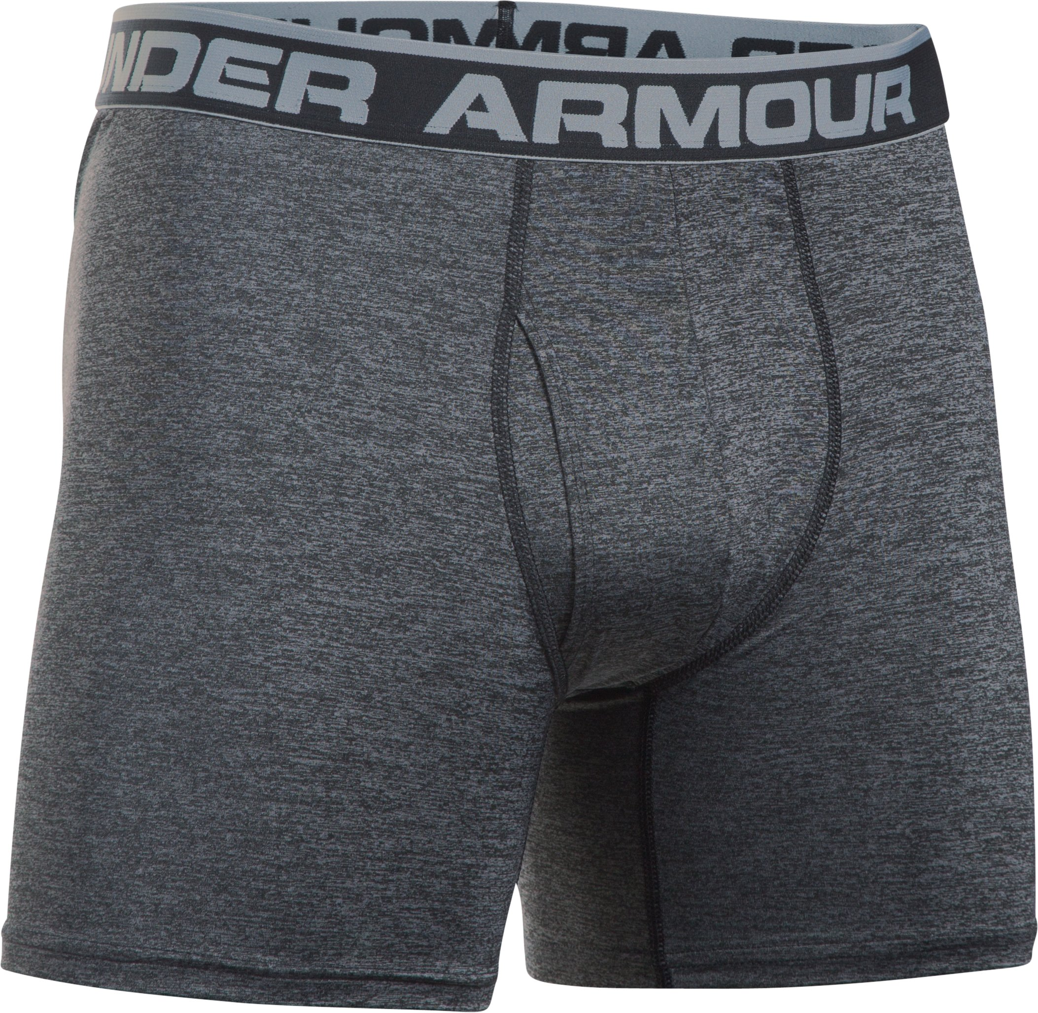 Men's UA Original Series Twist Boxerjock®, Steel,