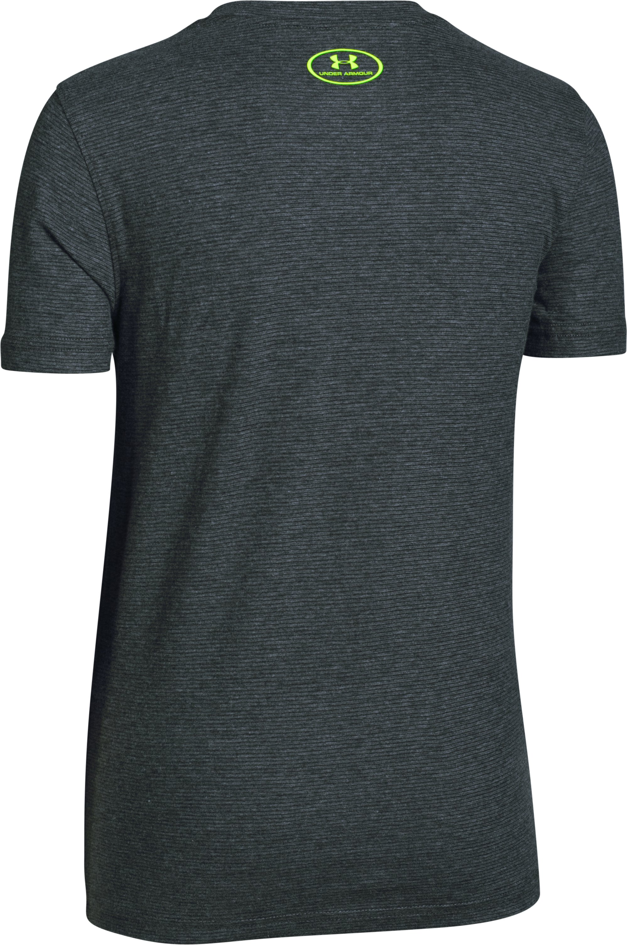 Boys' UA Charged Cotton® T400 T-Shirt, Carbon Heather,