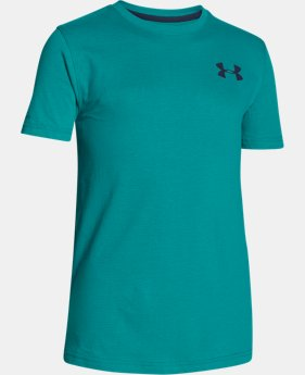 New Arrival Boys' UA Charged Cotton® T-Shirt LIMITED TIME: FREE SHIPPING 1 Color $22.99