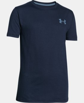 Boys' UA Charged Cotton® T400 T-Shirt LIMITED TIME: FREE U.S. SHIPPING 3 Colors $17.99