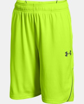 New Arrival Boys' UA Show Me Sweat Shorts  2 Colors $26.99 to $34.99