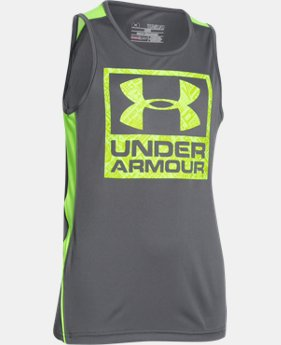Boys' UA Show Me Sweat Tank  1 Color $22.99