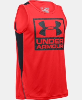 Boys' UA Show Me Sweat Tank LIMITED TIME: FREE U.S. SHIPPING 1 Color $17.24