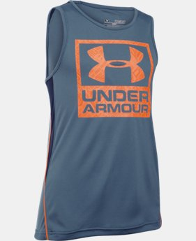 Boys' UA Show Me Sweat Tank LIMITED TIME: FREE SHIPPING 1 Color $34.99