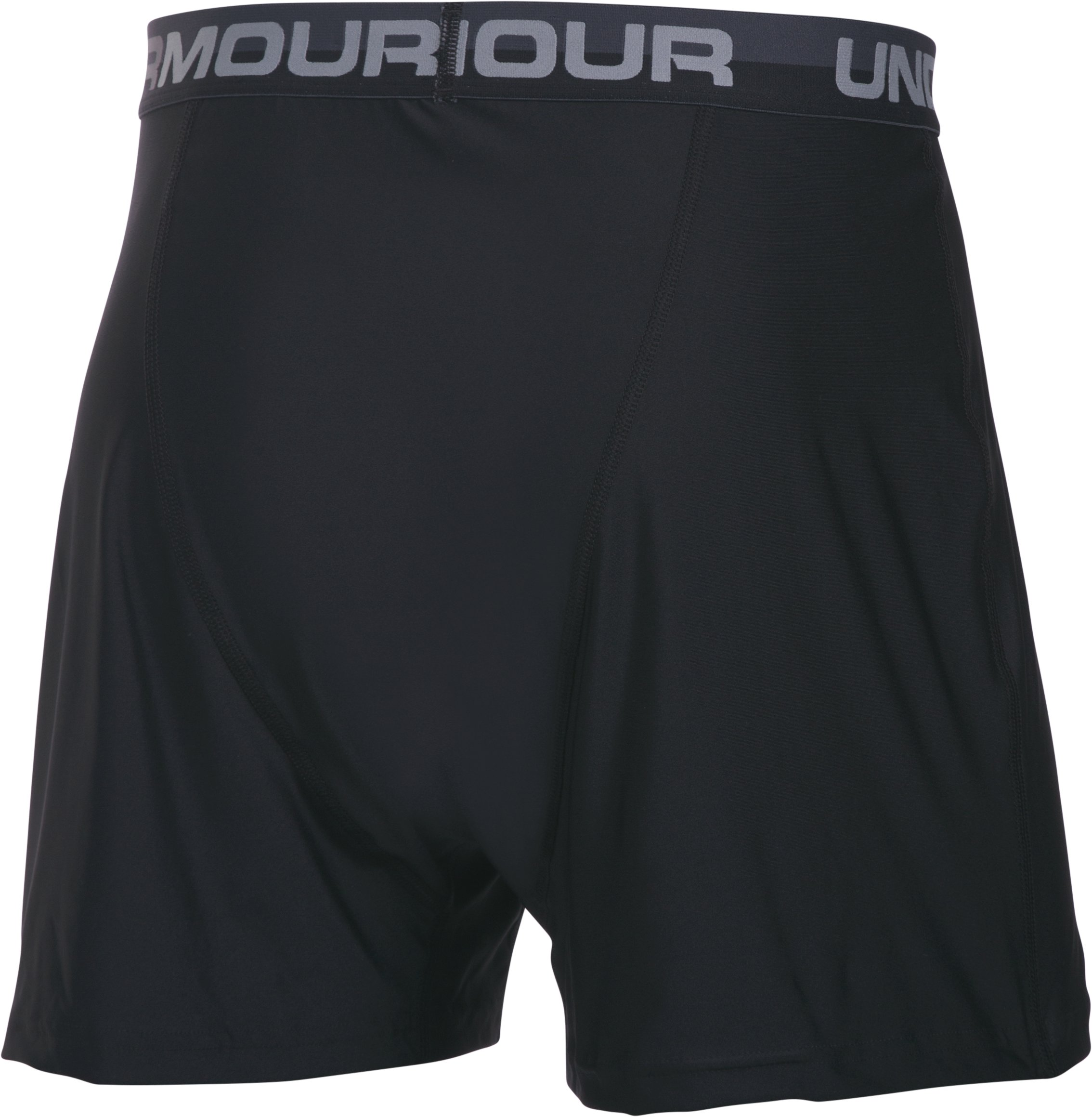 Men's UA Original Series Boxer Shorts, Black , undefined