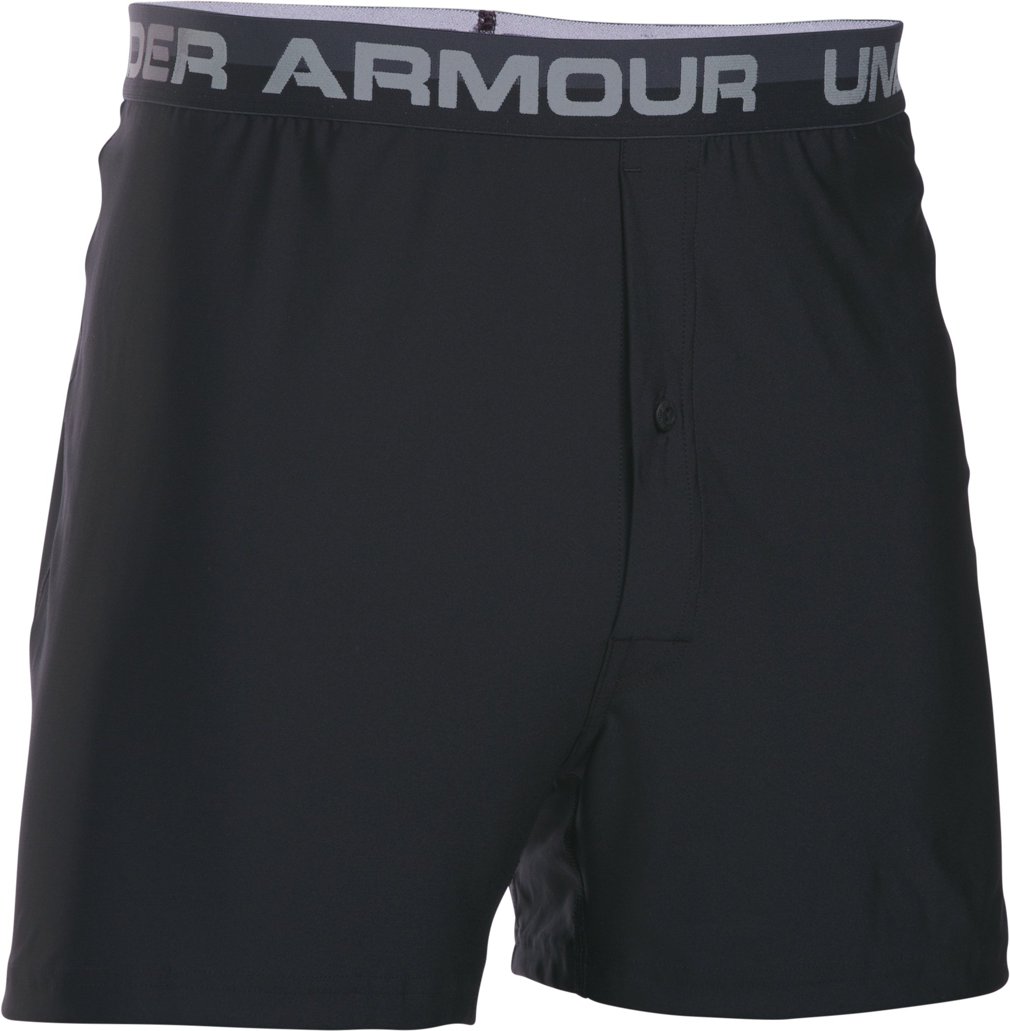 Men's UA Original Series Boxer Shorts, Black