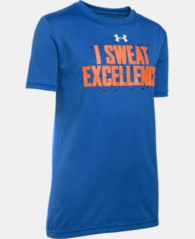 Boys' UA I Sweat Excellence T-Shirt LIMITED TIME: FREE SHIPPING 1 Color $25.99