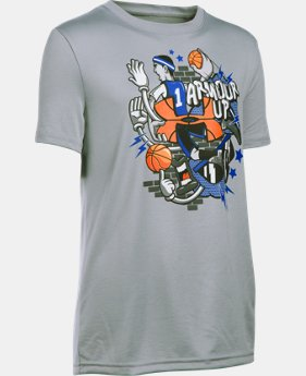 New Arrival Boys' UA Throw It Down T-Shirt LIMITED TIME: FREE SHIPPING 1 Color $22.99