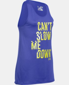 Girls' UA Can't Slow Me Down Tank  1 Color $17.99