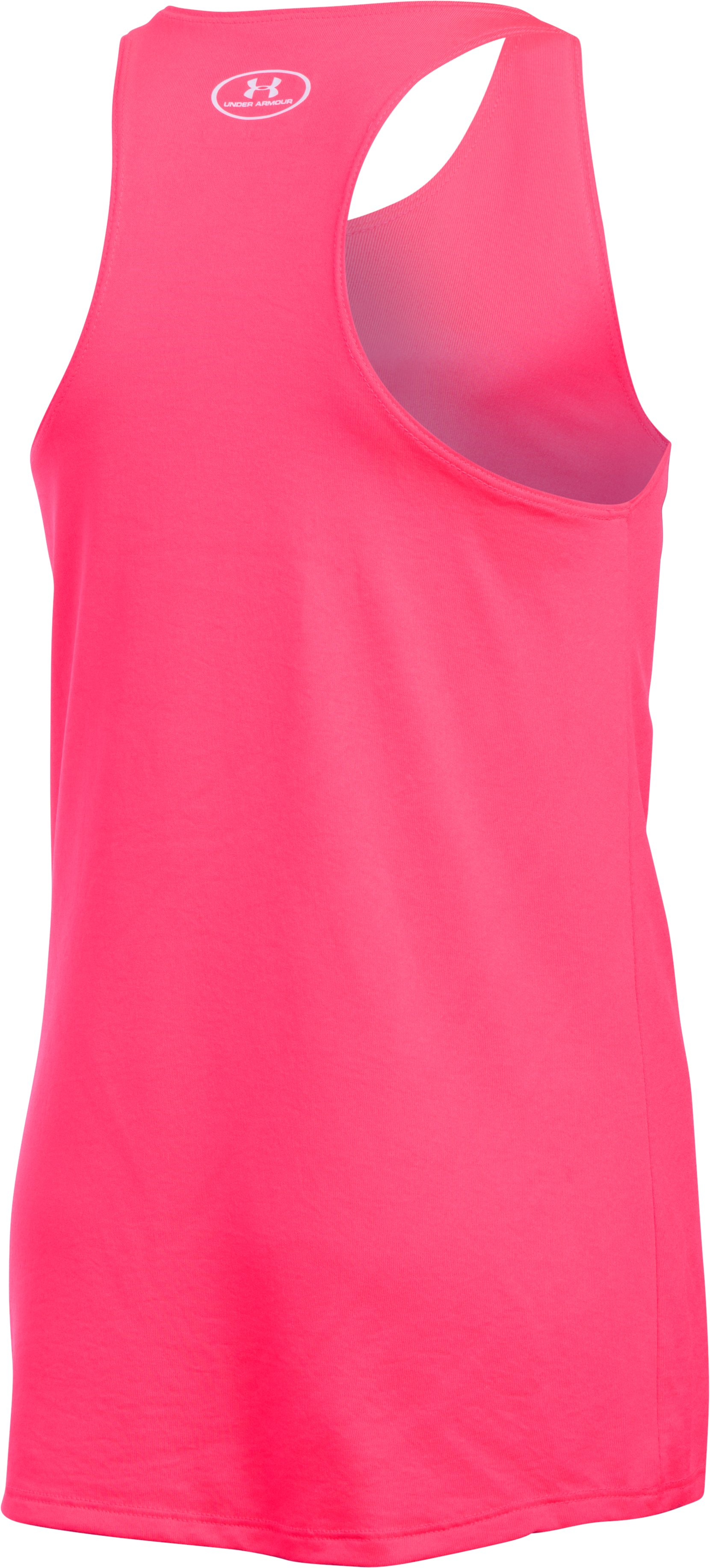 Girls' UA Can't Slow Me Down Tank, HARMONY RED,