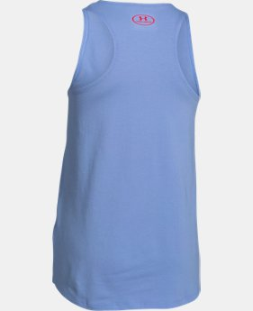 Girls' UA Favorite Big Logo Tank