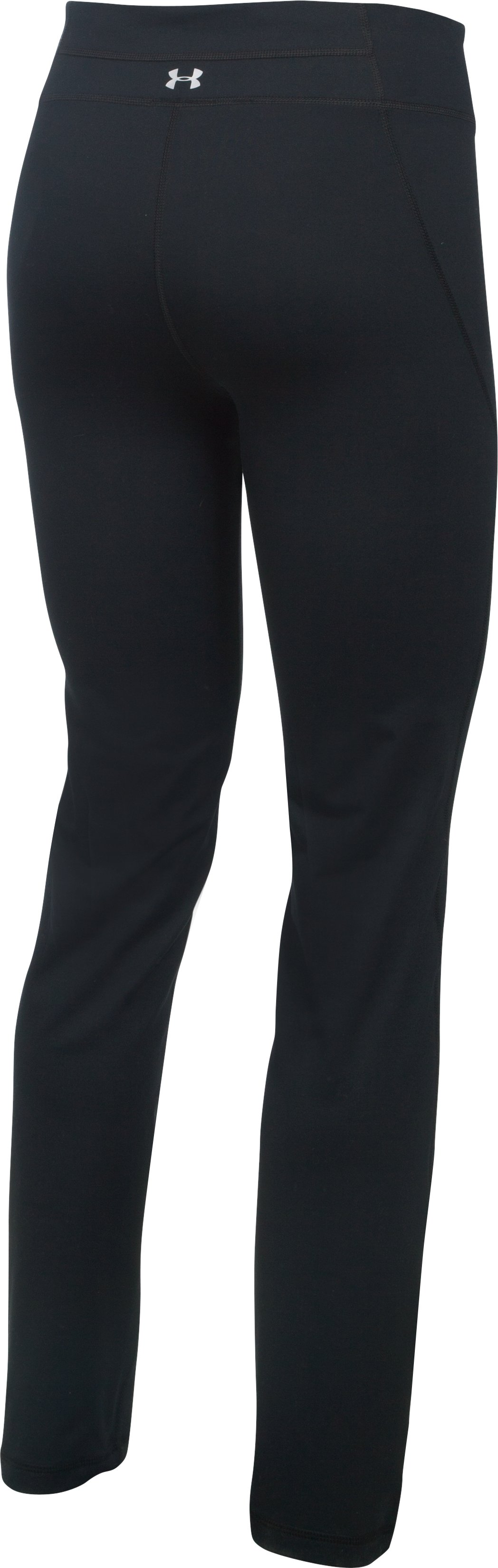 Women's UA Mirror Straight Leg Pant, Black