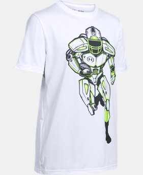 New Arrival Boys' UA Try & Stop Me T-Shirt LIMITED TIME: FREE SHIPPING 2 Colors $22.99