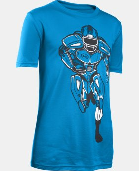 New Arrival Boys' UA Try & Stop Me T-Shirt LIMITED TIME: FREE SHIPPING  $22.99