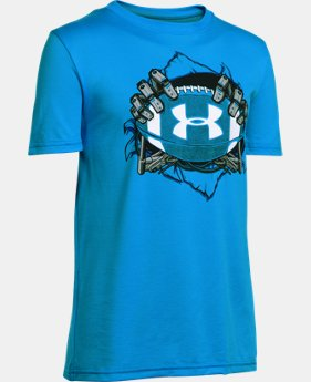 New Arrival Boys' UA Football Mash Up T-Shirt   $22.99