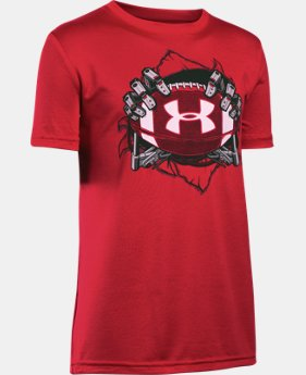 New Arrival Boys' UA Football Mash Up T-Shirt  1 Color $22.99