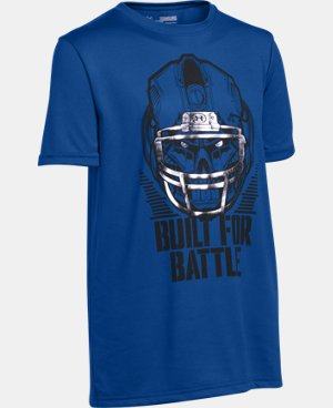 Boys' UA Battle Helmet T-Shirt LIMITED TIME: FREE U.S. SHIPPING 1 Color $22.99