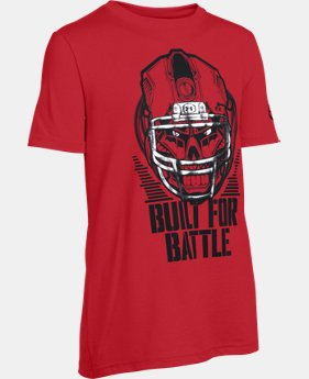 New Arrival Boys' UA Battle Helmet T-Shirt LIMITED TIME: FREE SHIPPING 3 Colors $22.99