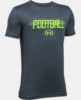 New Arrival Boys' UA Football Branded T-Shirt  1 Color $19.99