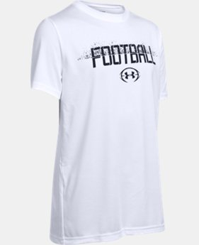 New Arrival Boys' UA Football Branded T-Shirt   $19.99