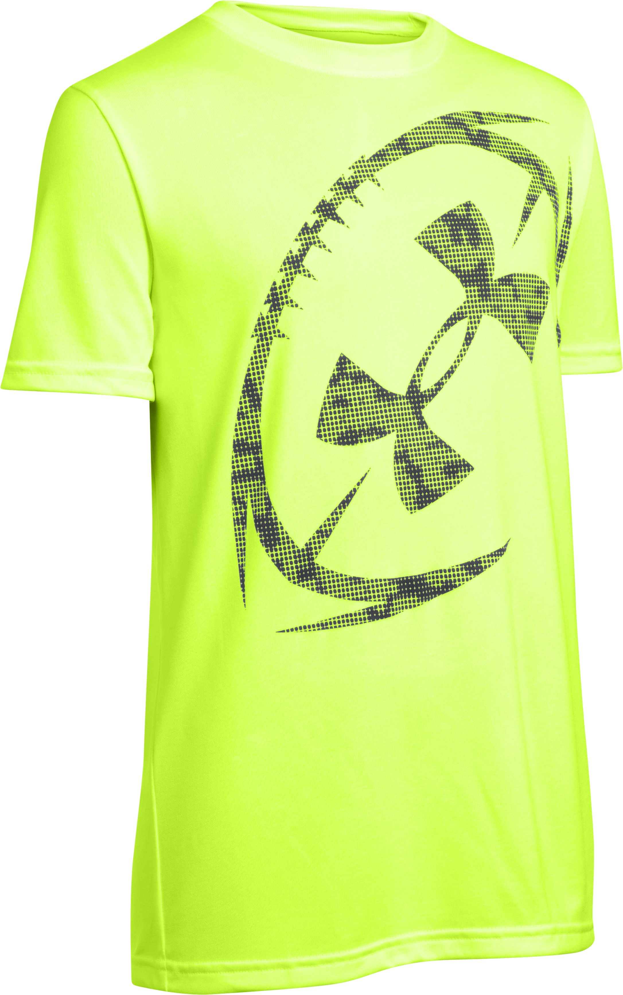 Boys' UA Logo Football T-Shirt 1 Color $14.99