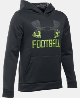 Boys' UA Inline Football Hoodie  2 Colors $49.99