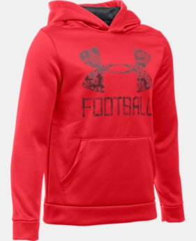 Boys' UA Inline Football Hoodie  1 Color $49.99