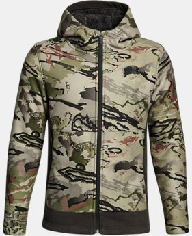 Boys' UA Stealth Fleece Jacket  1  Color Available $74.99