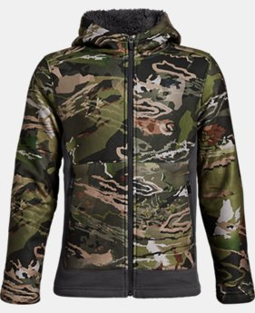 Boys' UA Stealth Fleece Jacket LIMITED TIME ONLY 3  Colors Available $80.49