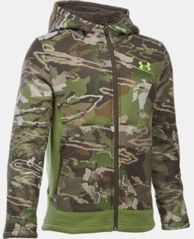 Boys' UA Stealth Fleece Jacket LIMITED TIME OFFER + FREE U.S. SHIPPING  $74.99