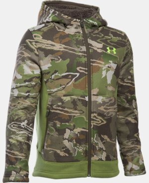 New Arrival Boys' UA Stealth Fleece Jacket LIMITED TIME: 25% OFF 2 Colors $74.99
