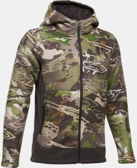 Boys' UA Stealth Fleece Jacket LIMITED TIME: 25% OFF 4 Colors $74.99