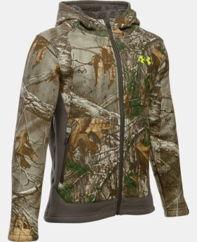 Boys' UA Stealth Fleece Jacket  1 Color $56.24