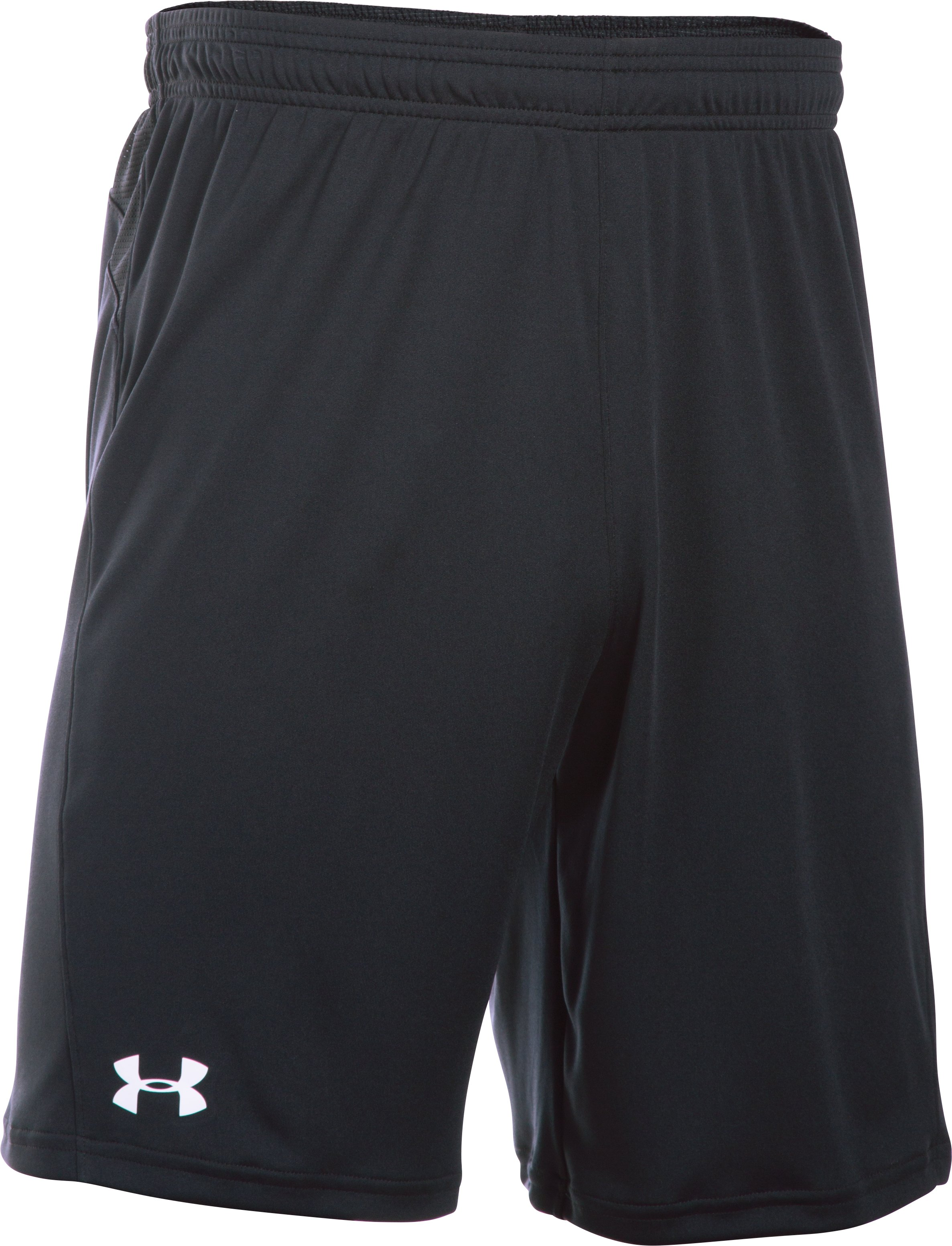 Men's UA Challenger Knit Shorts, Black , undefined